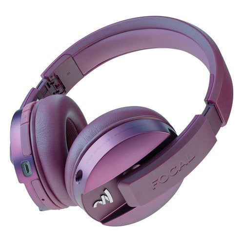 Focal Listen Wireless Bluetooth Headphones with Microphone for Smartphones - CHIC PURPLE