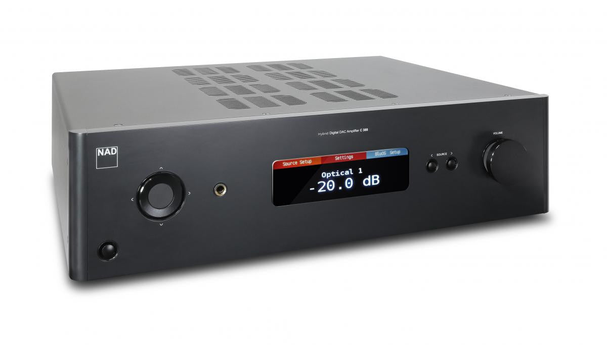 NAD C 388 Stereo Integrated Amplifier with built-in DAC and Bluetooth®