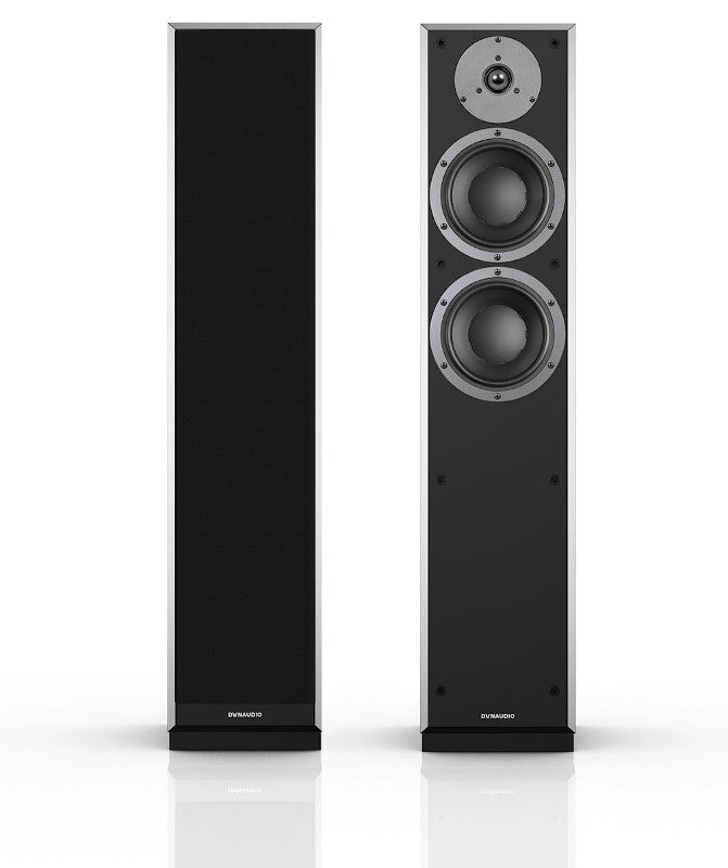 paradigm piano product speakers floor front floorstanding prestige black norvett electronics standing