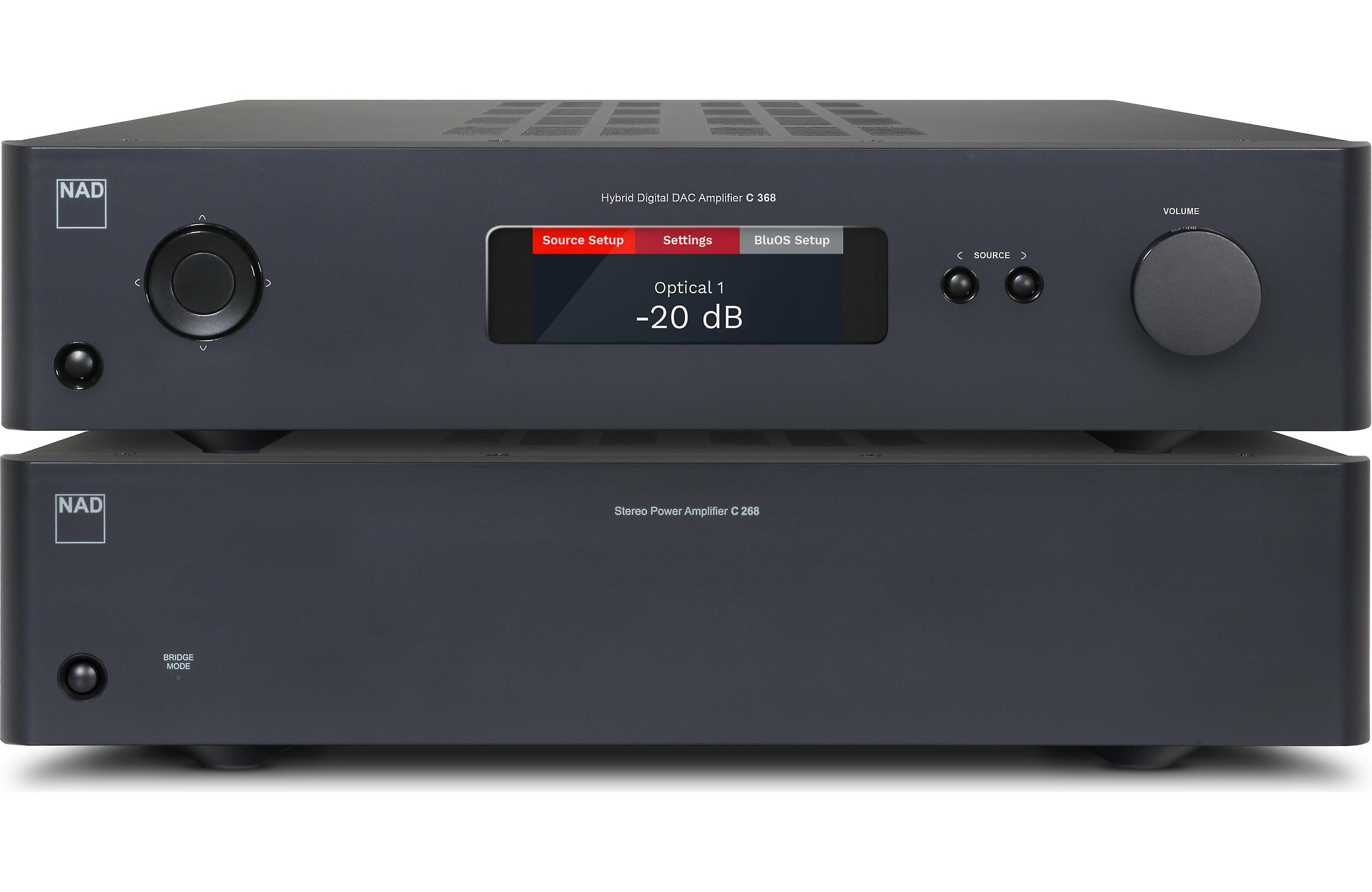 NAD C 268 Stereo Power Amplifier - Dedicated Audio