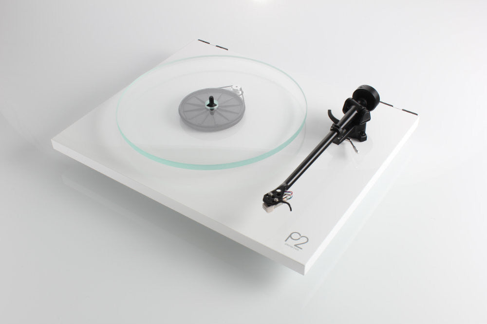 Rega Planar 2 Turntable With Cartridge - WHITE