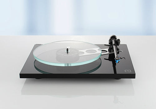 Rega Planar P3 Turntable - BLACK
