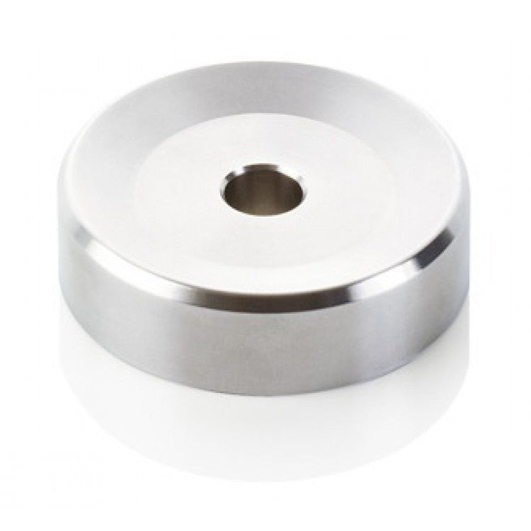 Clearaudio 45 RPM Stainless Steel  Record Adapter