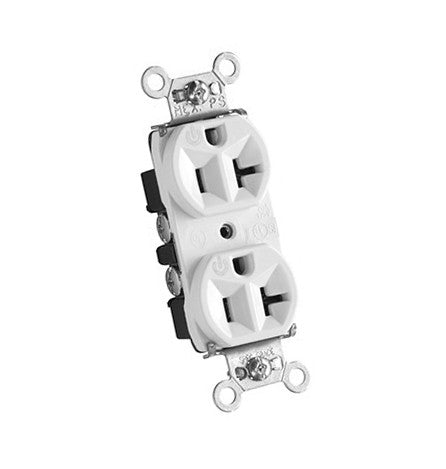 Acme Audio 20a Silver Plated Cryogenically Treated Audiophile Outlet - White