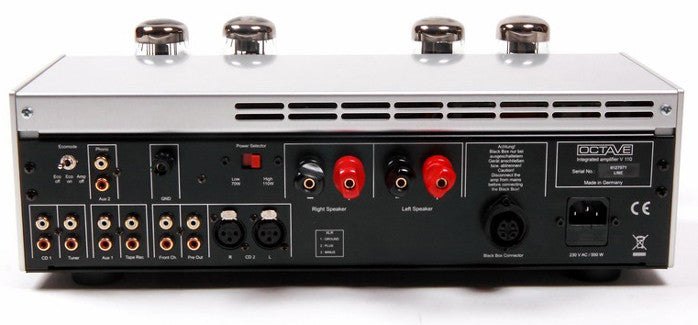 Octave V110 Tube Integrated Amplifier