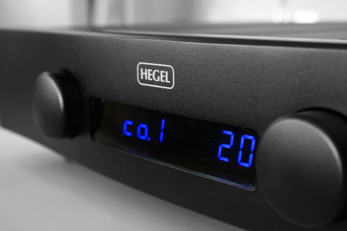Hegel H80 Integrated Amplifier with DAC - BLACK