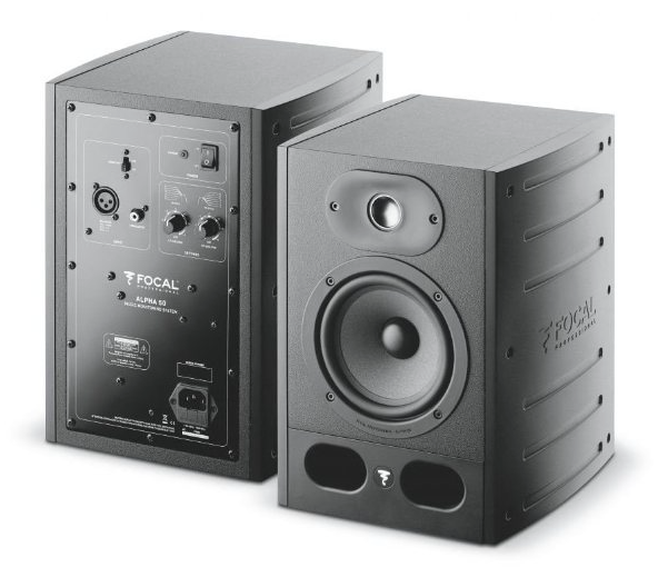 Focal Alpha 50 Monitor Loudspeaker - EACH