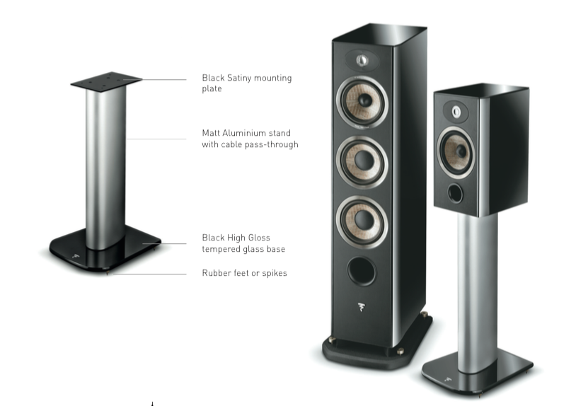 Focal Aria S900 Speaker Stands PAIR Dedicated Audio
