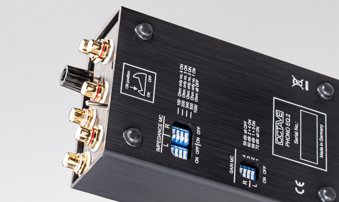 Octave Phono EQ 2 Phono Preamplifier - Dedicated Audio