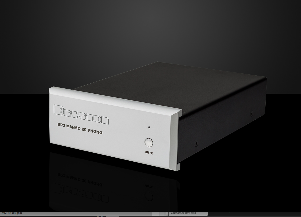 Bryston BP-2 Moving Magnet and Moving Coil Phono Stage