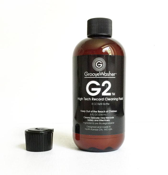 GrooveWasher G2 Record Cleaning Fluid - 8 oz Refill Bottle