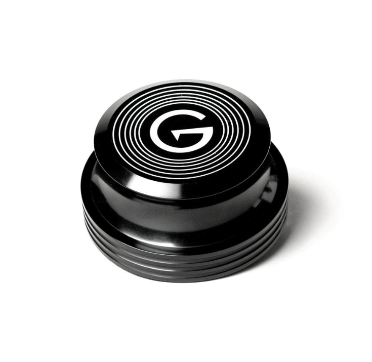GrooveWasher Black Record Stabilizer Weight