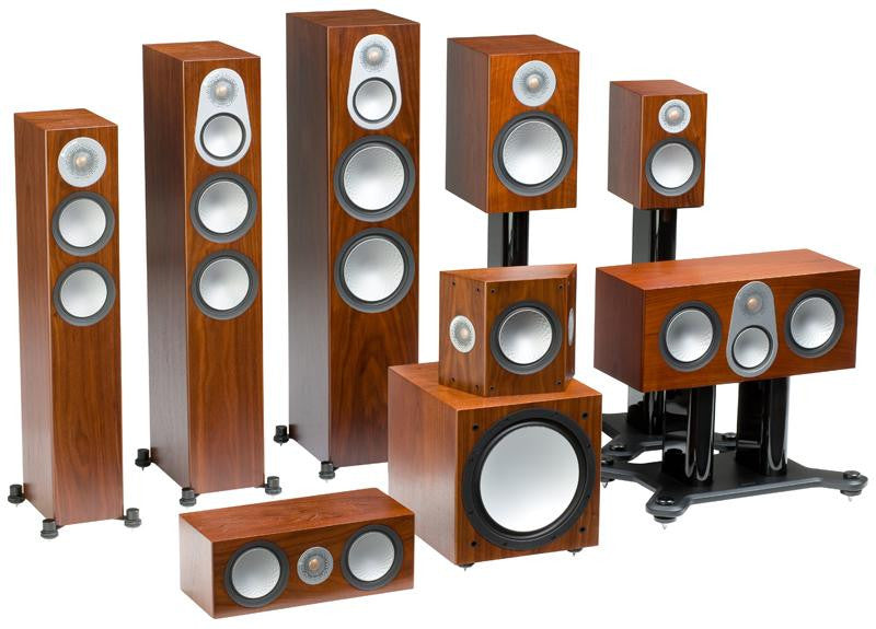 Monitor Audio Silver 50 Bookshelf Loudspeakers - PAIR