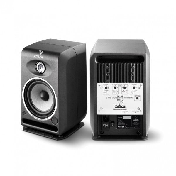 Focal CMS 50 Powered Reference Monitors - PAIR