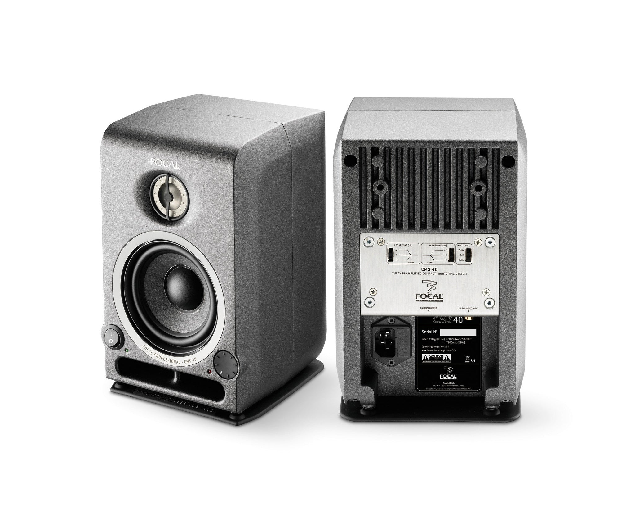 Focal CMS 40 Powered Reference Monitors - PAIR