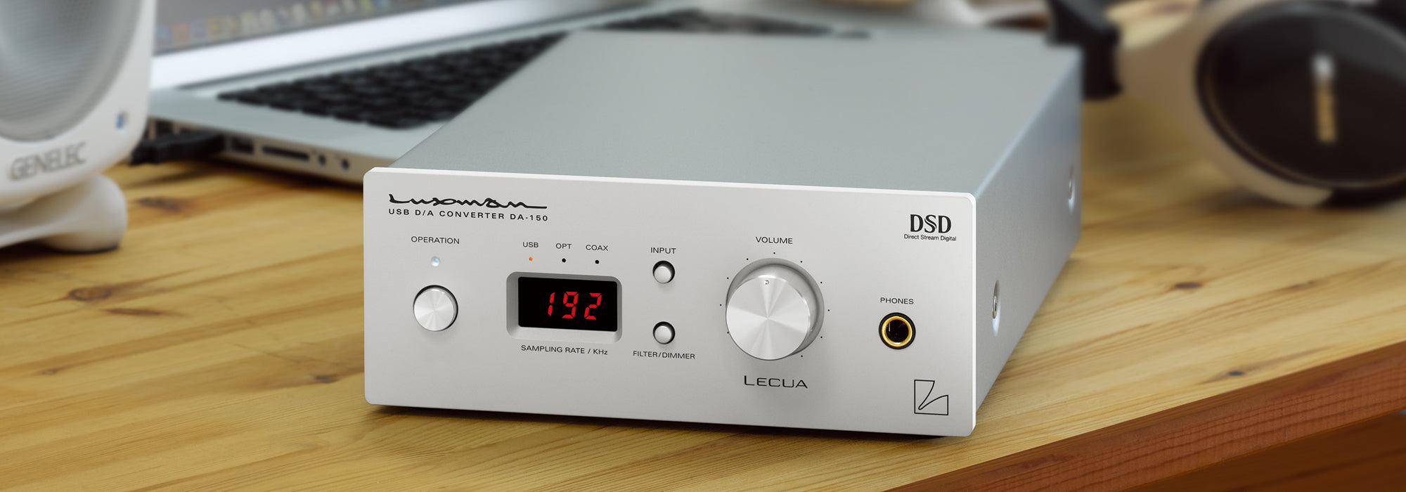 Luxman DA-150 USB Digital to Analog Converter