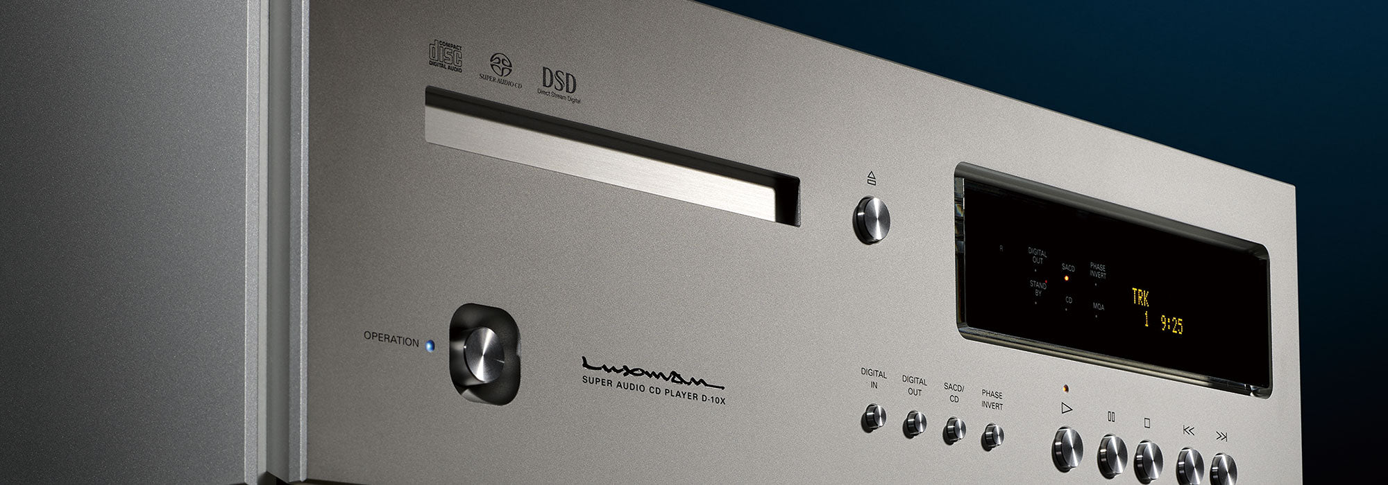 Luxman D-10X Digital Player
