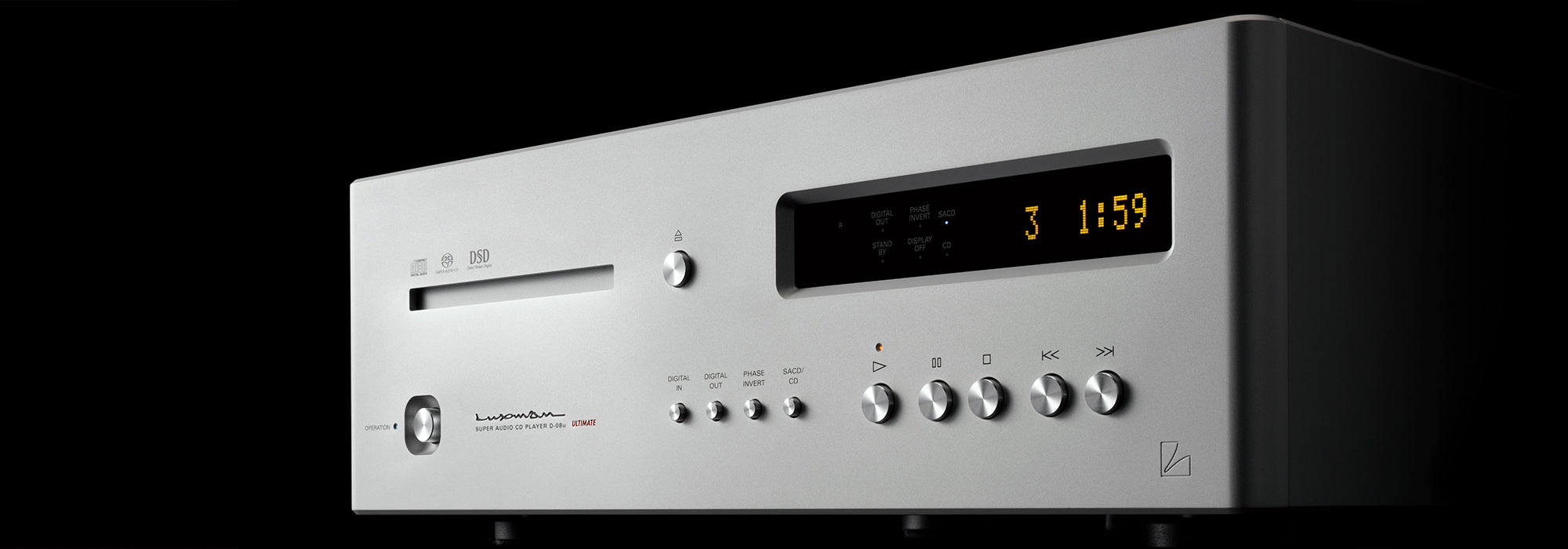 Luxman D-08u Digital Player