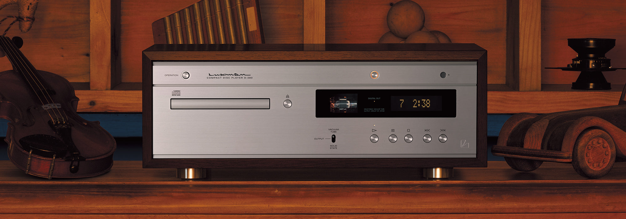 Luxman D-380 Digital Players