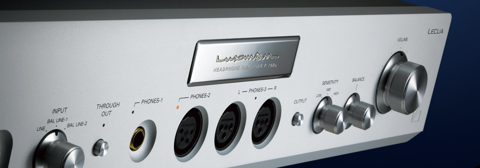 Luxman P-750u Headphone Amplifier