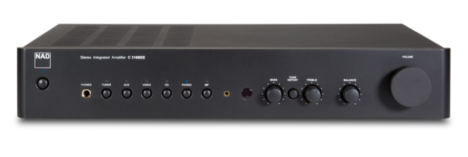 NAD C316BEE (V2) Stereo Integrated Amplifier
