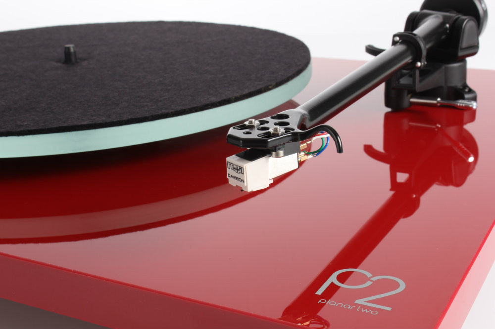 Rega Planar P2 Turntable With Cartridge - RED