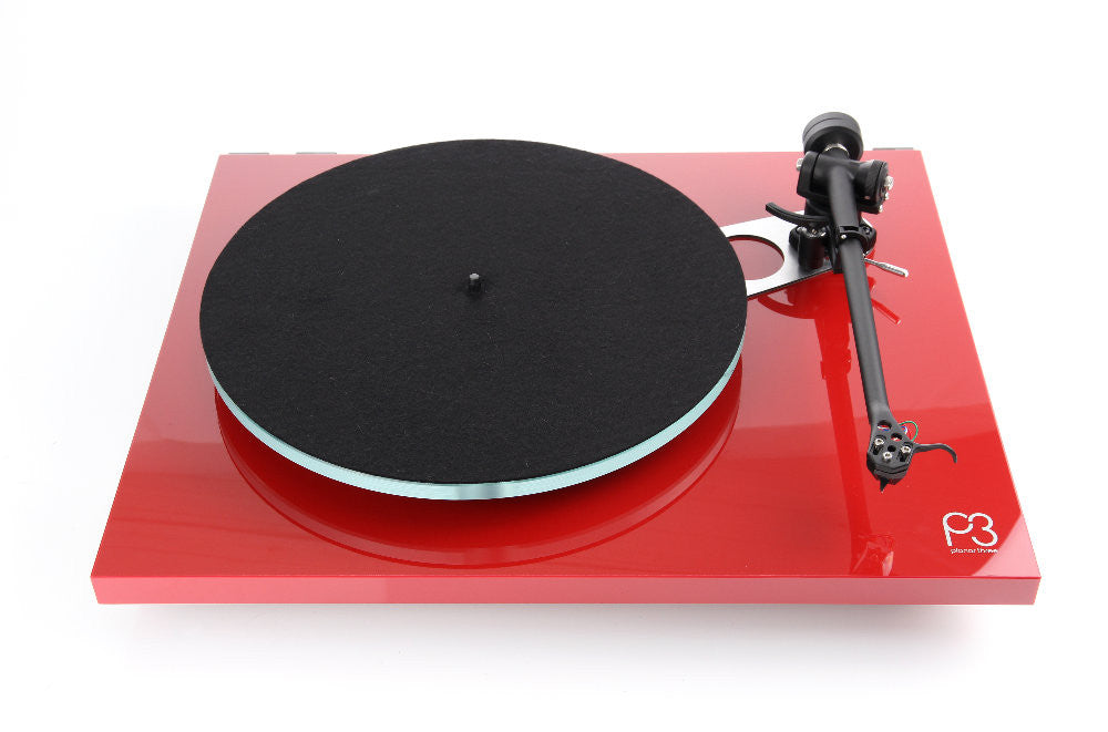 Rega Planar P3 Turntable - RED