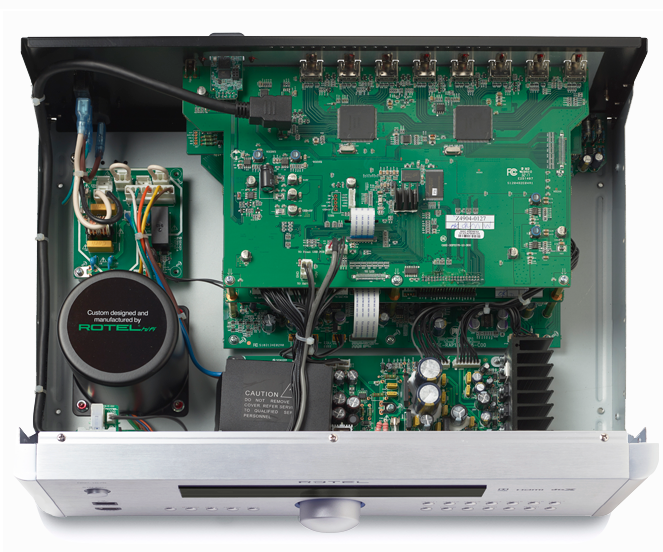 Rotel RSP-1576 MKII Surround Processor