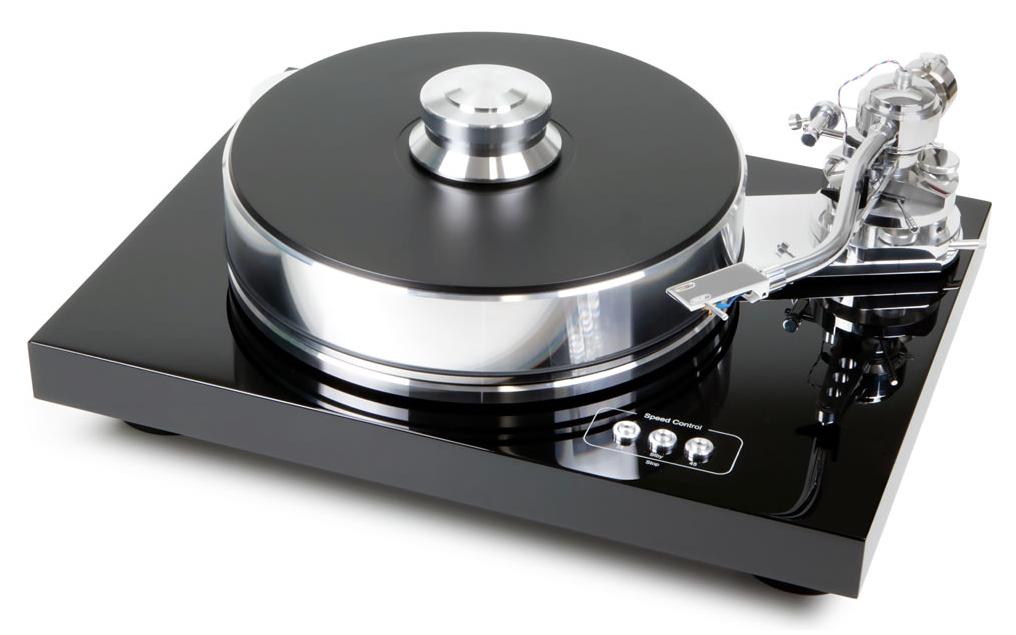 Pro-Ject Signature 10 turntable with single-pivot tonearm