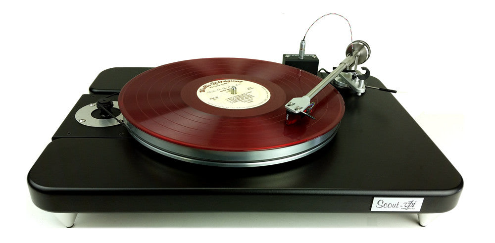 VPI Scout Jr. Turntable with pre mounted cartridge