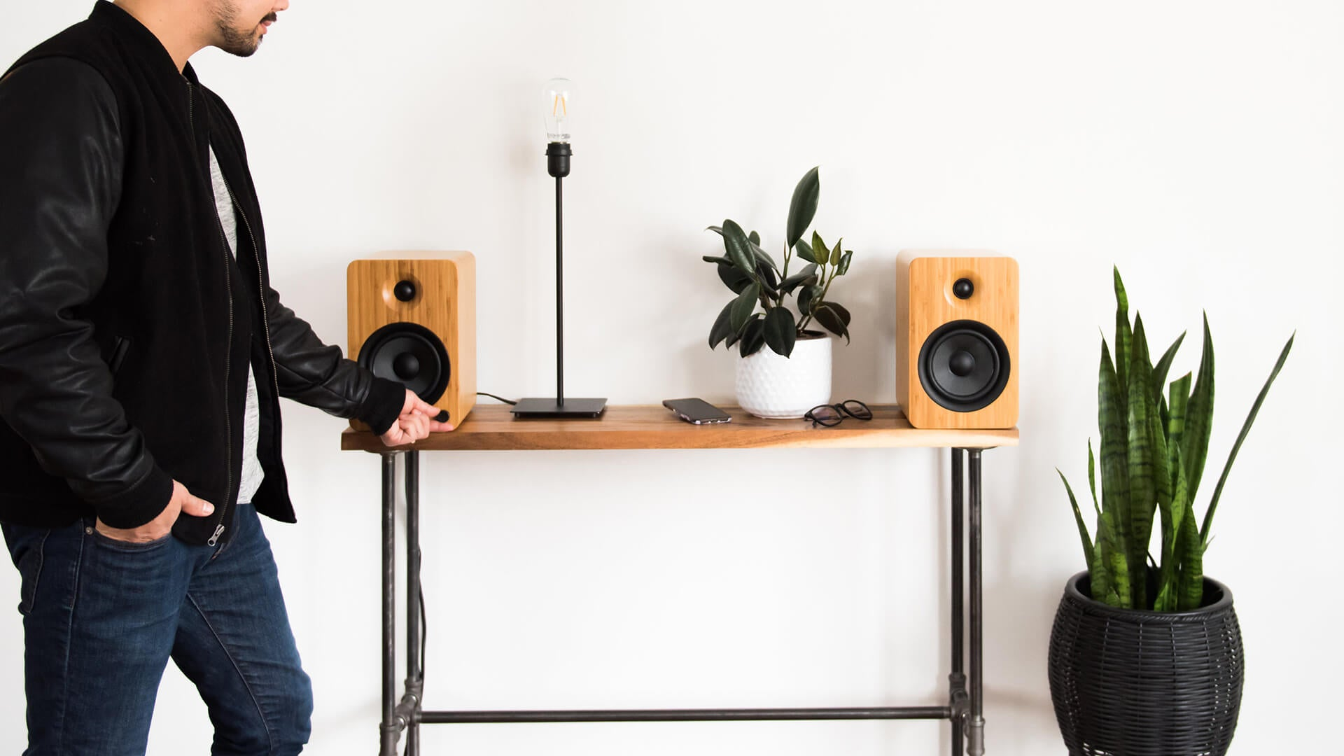 Kanto YU6 Powered Bookshelf Speakers - OTHER COLOR OPTIONS AVAILABLE