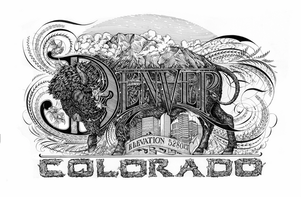 Denver Logo | Limited Edition