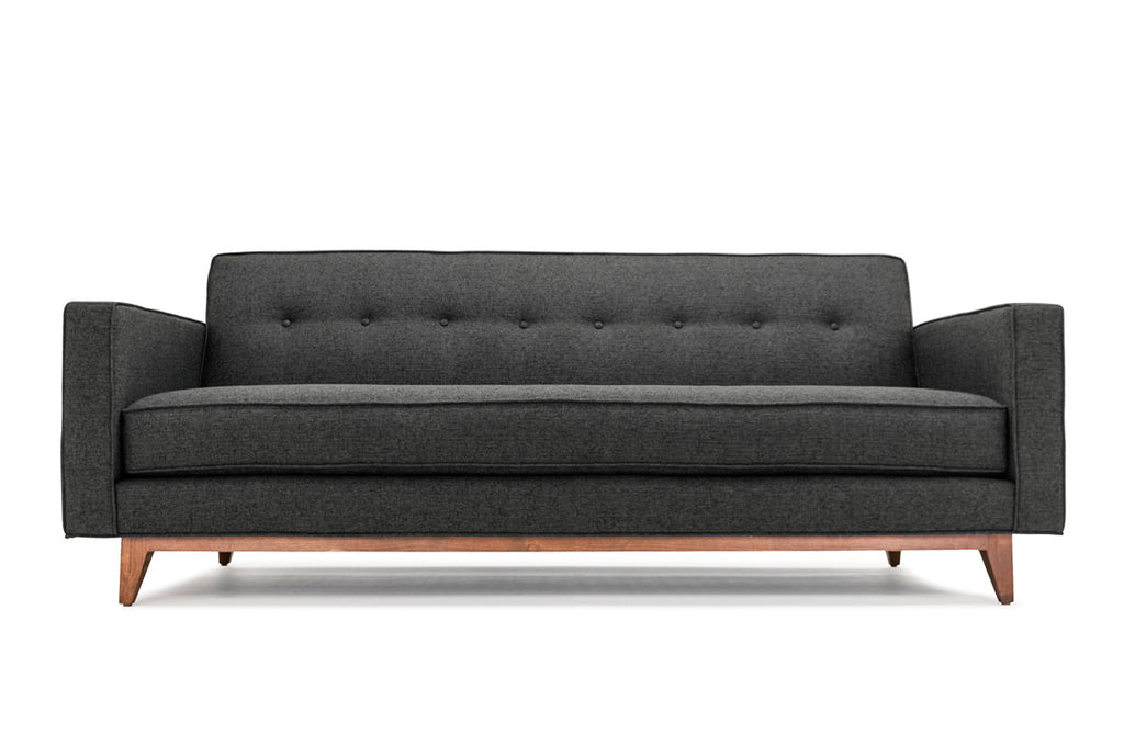 Mansfield Custom Affordable Mid Century Modern Sofa From Clad