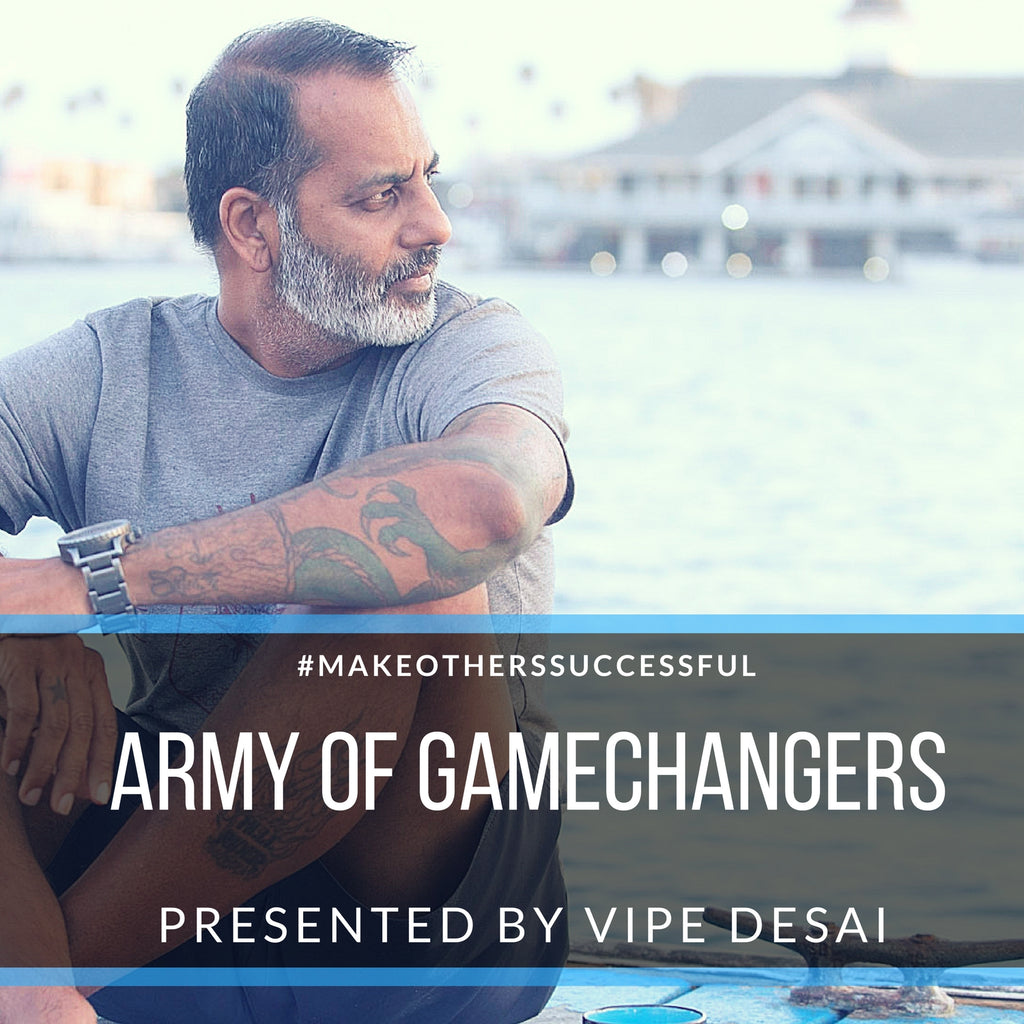 Vipe Desai, HDX Hydration Mix, Entrepreneurs, Podcast, Army of Gamechangers
