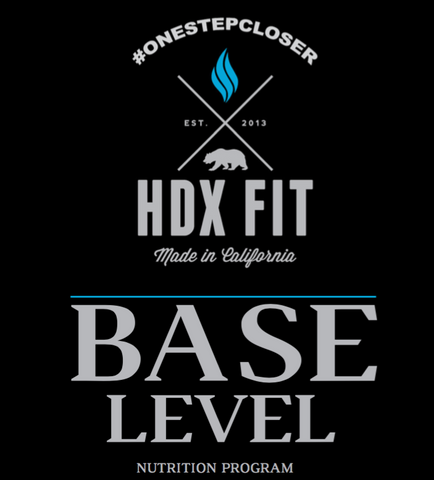 HDX Fit Base Level Nutrition Program - HDX Hydration Mix | HDXmix.com
