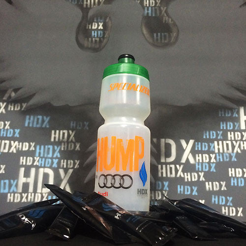 """Over the Hump"" Special Edition Bottle and 4 Pack of HDX Hydration Mix 