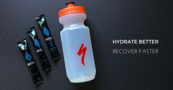 5 FREE Samples of HDX Hydration Mix & a Reusable Bottle