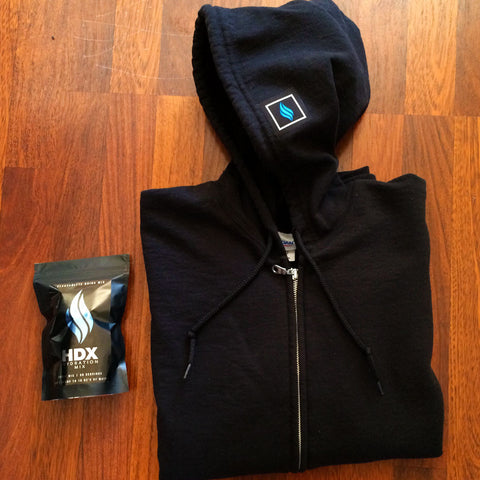 "HDX ""STEALTH"" HOODIE AND HYDRATION MIX PROMO - HDX Hydration Mix 