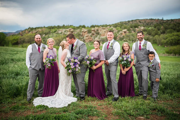 tailored west canon city wedding dress and formal wear fittings and alterations
