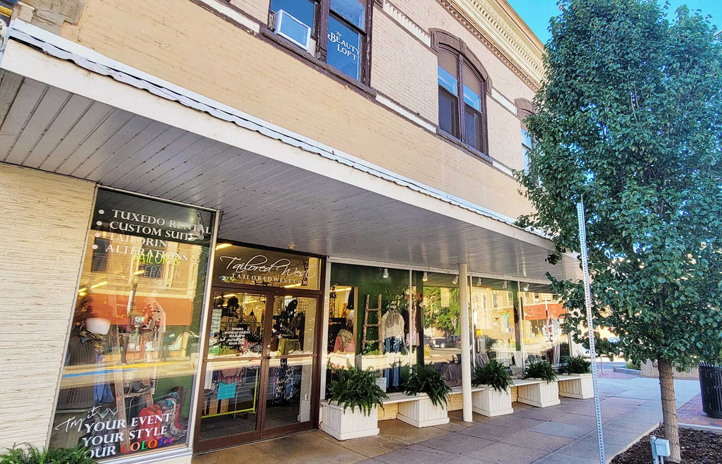 tailored west fashion boutique and alterations canon city colorado flagship