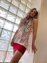 Load image into Gallery viewer, Sharkbite Sleeveless Top - Lace
