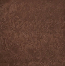 Load image into Gallery viewer, Jacquard Chocolate Wild Rag Silk Scarf