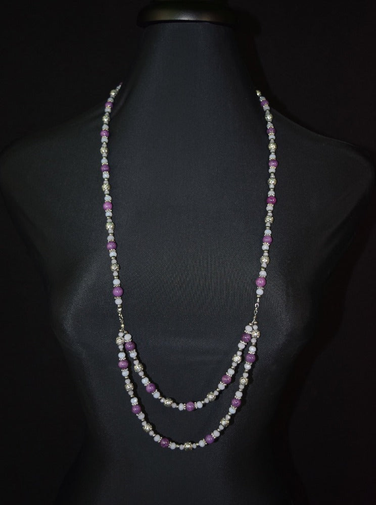 Amethyst Aura Necklace - #11