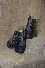 Load image into Gallery viewer, Corral Boots - LD Black Studs Bootie - J Toe - Q0166