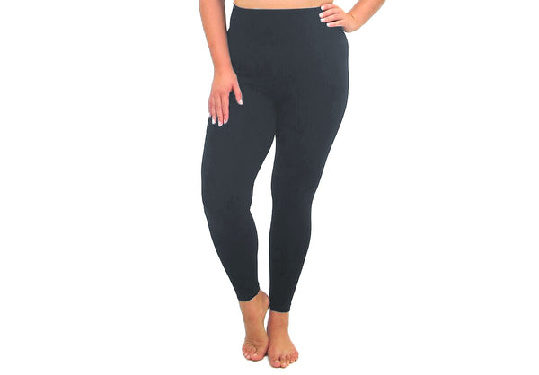 Extended Size Leggings - 4 Colors