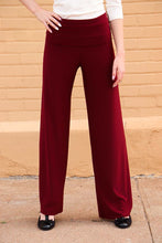 Load image into Gallery viewer, Palazzo Pant - Solid Merlot