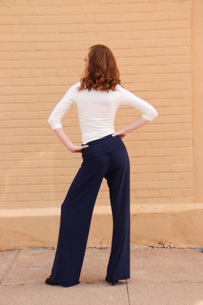 TW Totally Wow Pant- Solid Navy