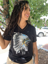 Load image into Gallery viewer, Native American Headdress T-Shirt