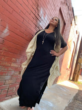 Load image into Gallery viewer, Maxi Dress With Pockets - Solid Black