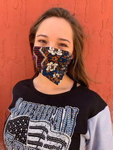 Load image into Gallery viewer, American Made Masks™ Fabric Mask - Boho Berry